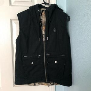 Legendary Whitetails quilted vest size small